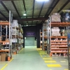 Our massive car paint warehouse with rows of automotive paint, spray paints, touch up paints and more.