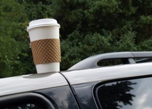 coffeeoncar