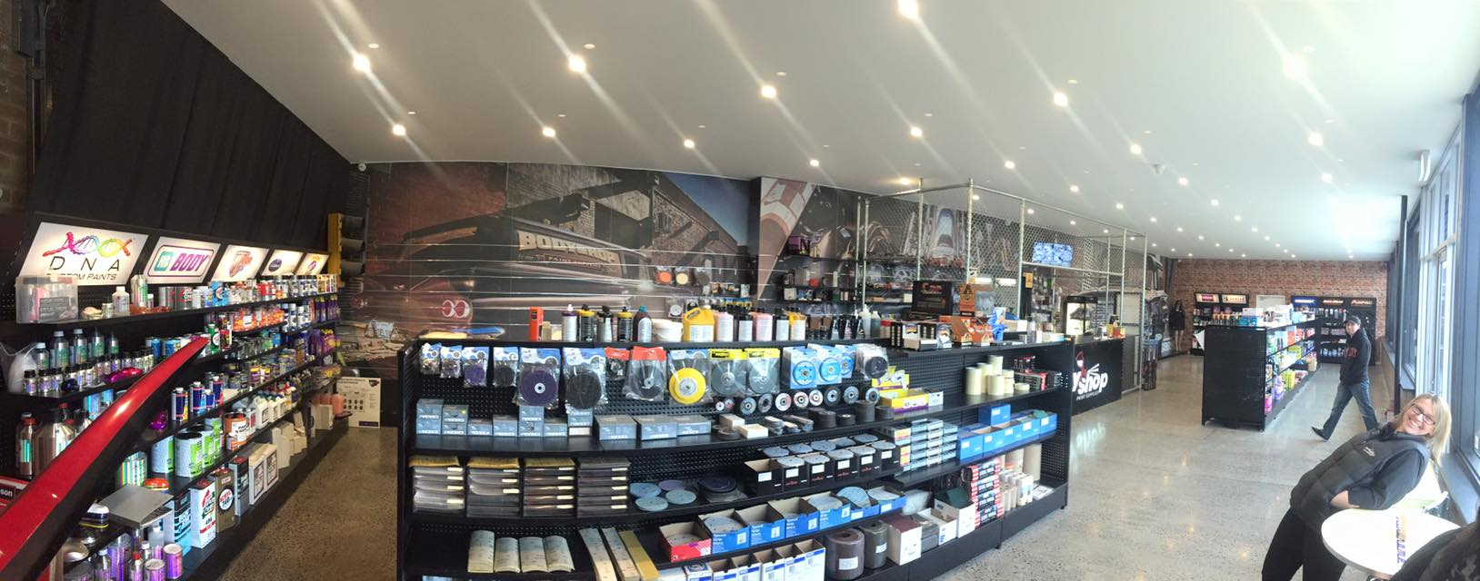 Gallery body shop paint supplies bayswater for Automotive paint suppliers